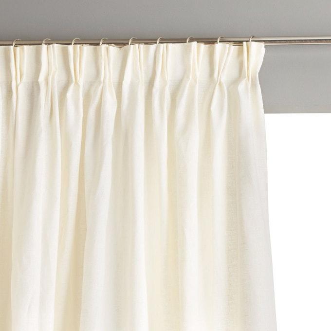 rideaux plis flammands