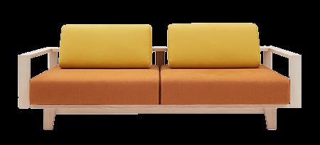 wood softline canapé